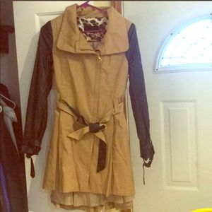 Steve Madden trench coat